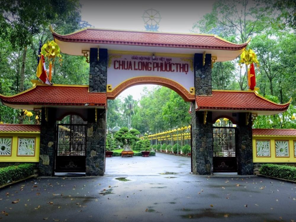 Công trình chùa Long Phước Thọ - Đồng Nai