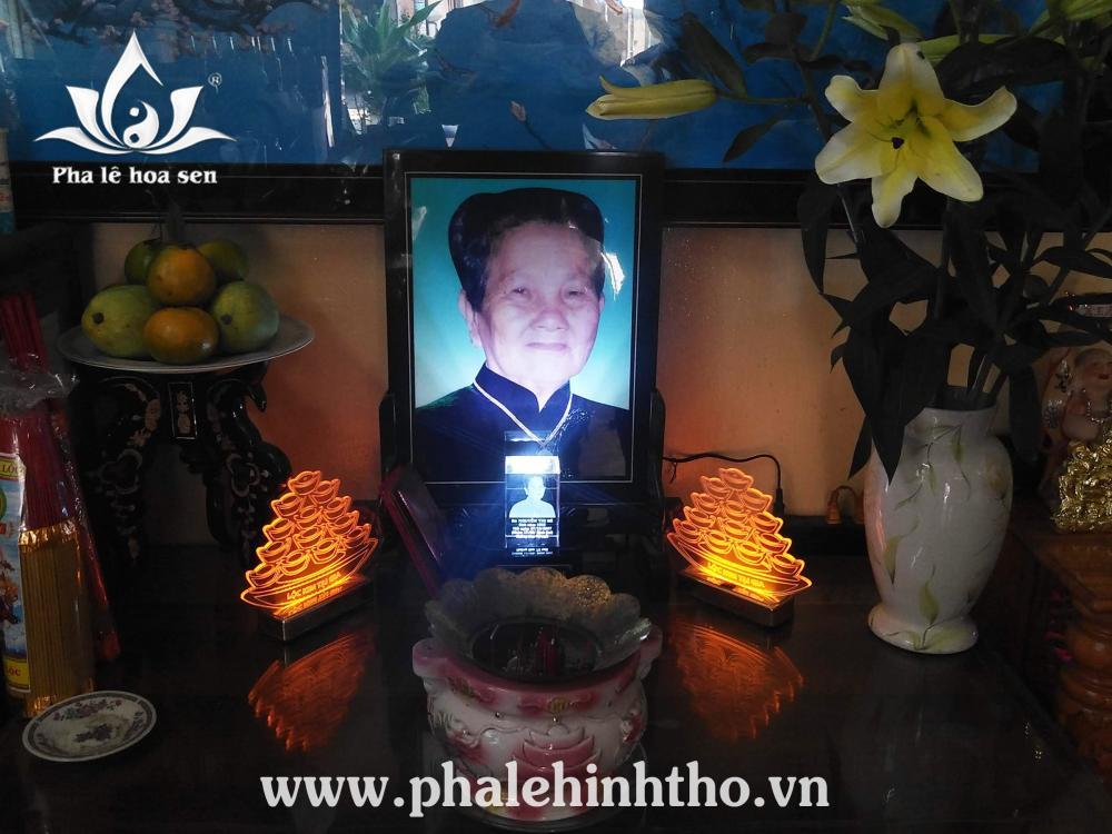 Thạch táng thờ tại gia - Bùi Đình Túy, Bình Thạnh